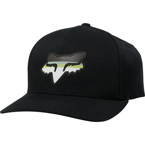 FOX YOUTH HEAD STRIKE SNAPBACK HAT BLACK