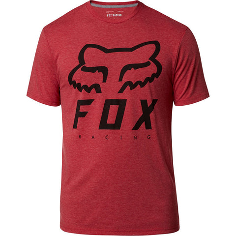 FOX MEN'S HERITAGE FORGER SS TECH TEE CHILI