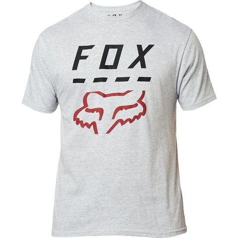 FOX MEN'S HIGHWAY SS TEE LIGHT HEATHER GREY