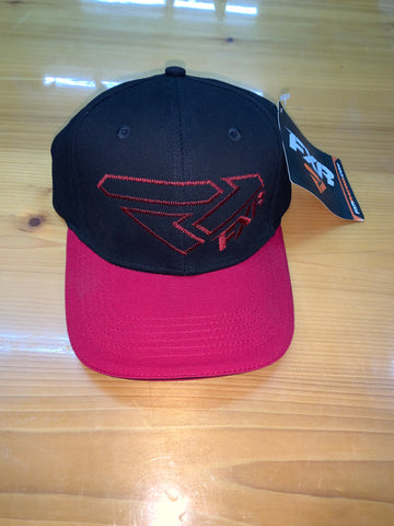 FXR X S HAT BLACK/RED