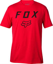 FOX MEN'S LEGACY MOTH SS TEE SCARLET