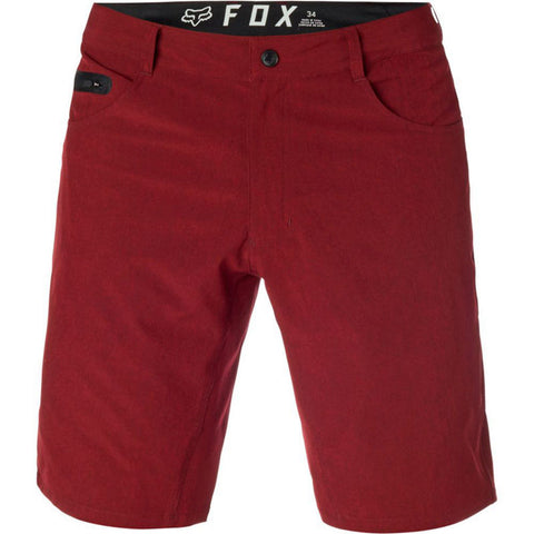 FOX MEN'S MACHETE TECH SHORT HEATHER RED