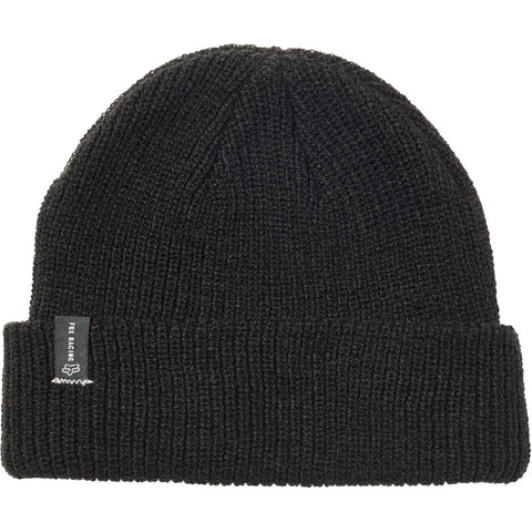 FOX MACHINIST BEANIE BLACK