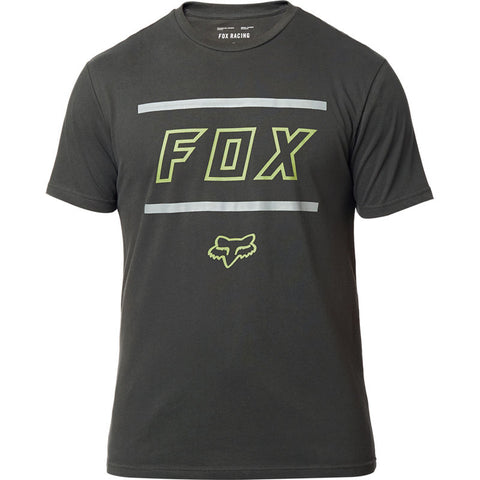 FOX MEN'S MIDWAY SS AIRLINE TEE BLACK VINTAGE