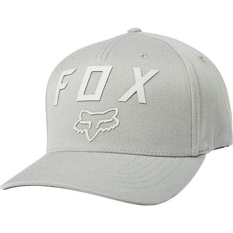 FOX NUMBER 2 FLEXFIT HAT GREY/LIGHT GREY