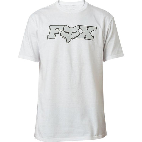FOX OUTER EDGE SS TEE OPT WHITE