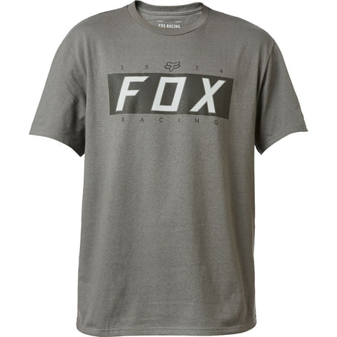 FOX WINNING SS TEE PEWTER