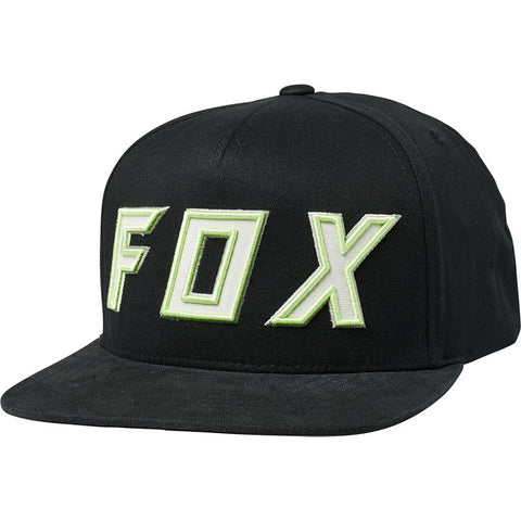 FOX POSESSED SNAPBACK HAT BLACK/GREEN