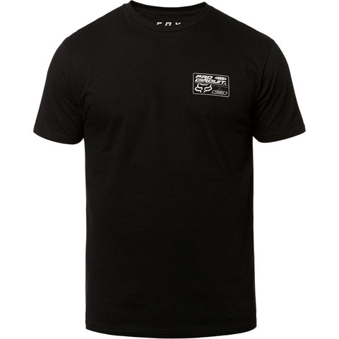 FOX MEN'S PRO CIRCUIT SS PREMIUM TEE BLACK