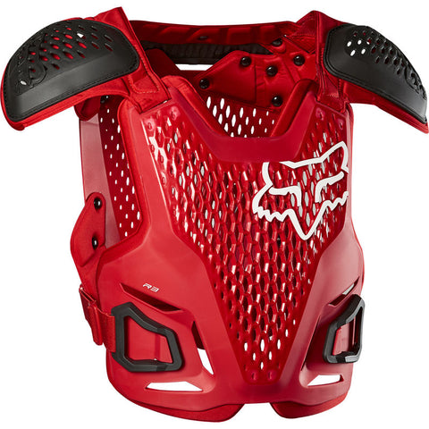 FOX R3 GUARD FLAME RED