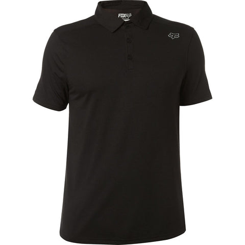 FOX MEN'S ROOKIE SS POLO BLACK