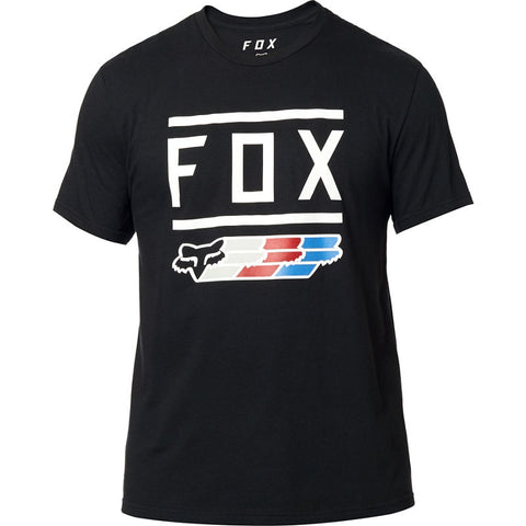FOX MEN'S SUPER SS TEE BLACK