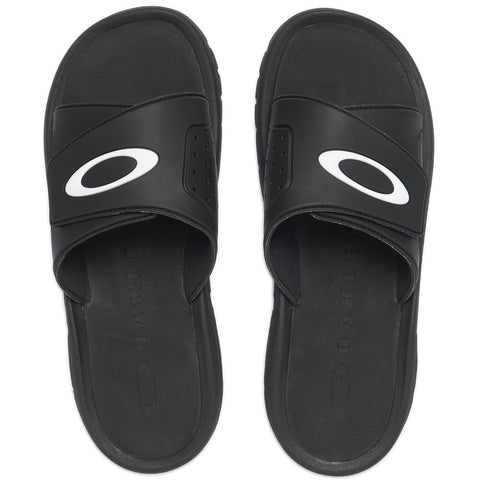OAKLEY SUPER COIL SLIDE 2.5 FLIP FLOP BLACKOUT