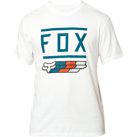 FOX MEN'S SUPER SS TEE OPT WHITE