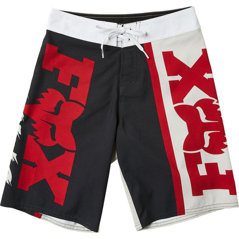 FOX YOUTH VICTORY BOARDSHORT BLACK/GREY