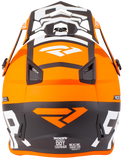 FXR Youth Boost Evo Helmet Black/Orange Free Shipping! Free FXR Water Bottle!