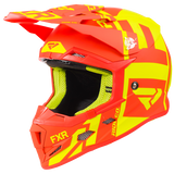 FXR Youth Boost Clutch Helmet Hi-vis/Nuke Red Free Shipping! Free FXR Water Bottle!