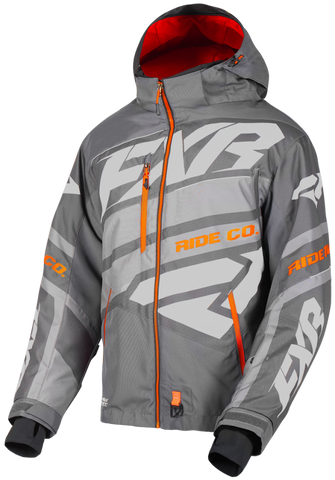2019 FXR Boost X Jacket Char/Grey/Orange Free Shipping!!!!!