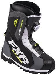 FXR Backshift BOA Boot Black/HIVIS Size 7  With Free Shipping!!!!