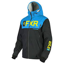 FXR HELIUM RIDE SS JACKET BLACK/BLUE/HI-VIS Free Shipping!!!!!