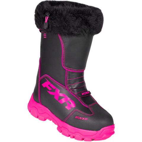 FXR Excursion Boot Black/Fuchsia SIZE 8 Free Shipping!!!!