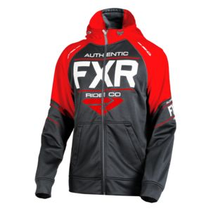FXR Ride Tech Hoodie Black/Red