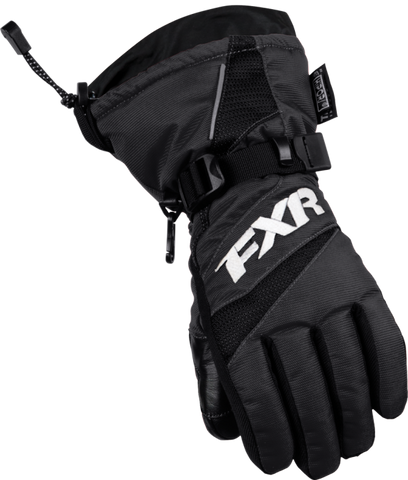 FXR Youth Helix Race Glove Black Free Shipping!!!!