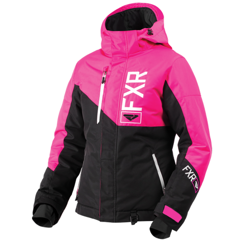 2019 FXR LADIES FRESH BLACK/FUCHSIA JACKET FREE SHIPPING