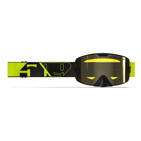 2020 509 Kingpin Goggle Night Hi-Vis Black XL Free Shipping!!!!
