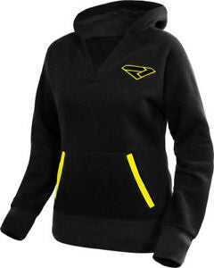 FXR Women's Pinnacle PO Hoodie Black/Hi-Vis