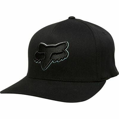 FOX EPICCYCLE FLEXFIT HAT BLK/BLK