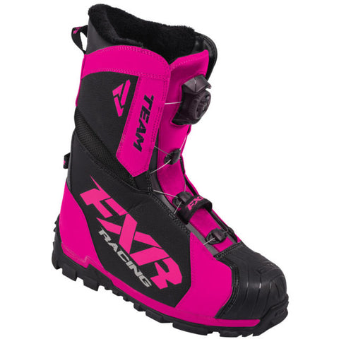 FXR Team BOA Boot Pink Size 9 With Free Shipping!!!!