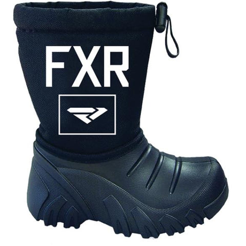 2019 FXR Youth Shredder Boot Black Free Shipping!!!!