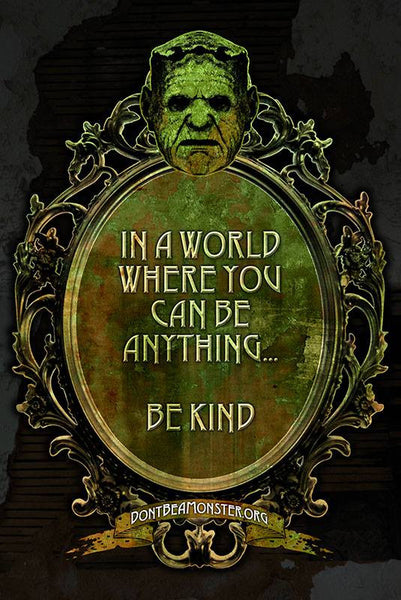 "Limited Edition 24x36 ""Be Kind"" Poster"