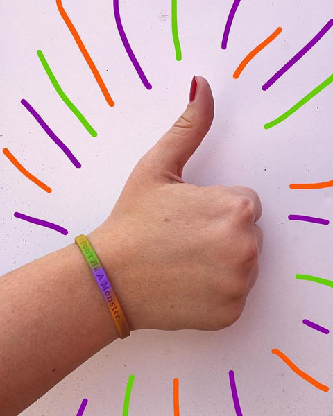 Tri-color Thin Wristband