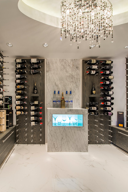 WINE PEGS: Inspirateion: Yeterian Residence Wine Cellar - Victor Eric, Vancouver