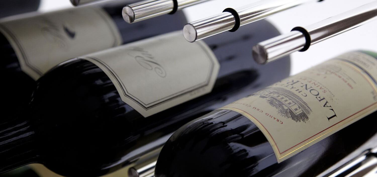 Store your wine pegs in style
