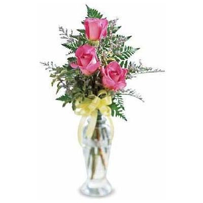 Triple Delight Rose Arrangement