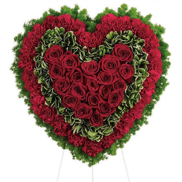 Majestic Heart Wreath