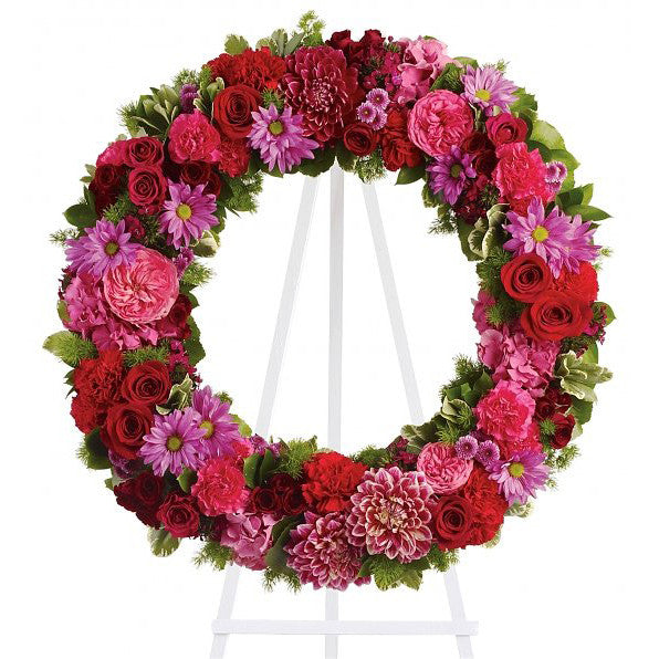 Infinite Love Wreath