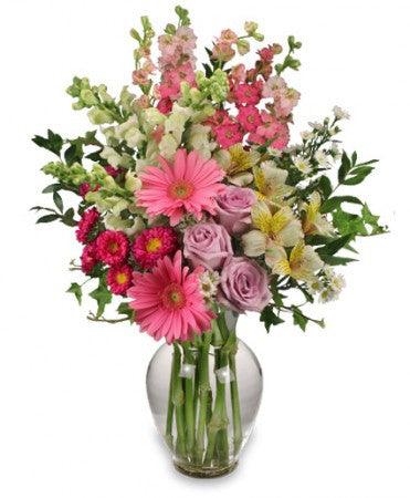 Pink Splendour Arrangement