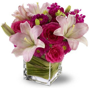 Posh Pinks Bouquet 592