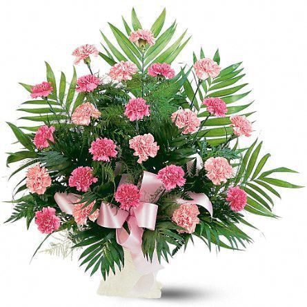 Classic Carnations Arrangement