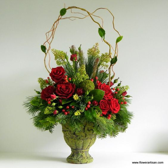 Victorian Christmas Arrangement
