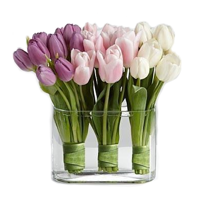 Elegant Tulips Arrangement