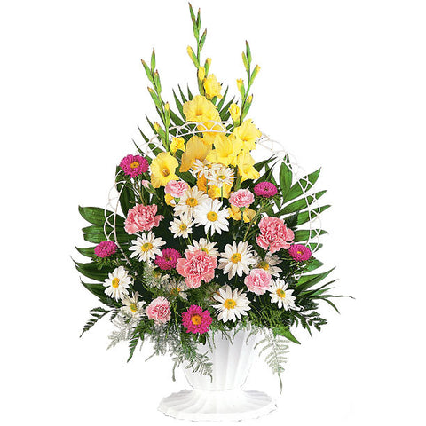 Basket of Faith Arrangement