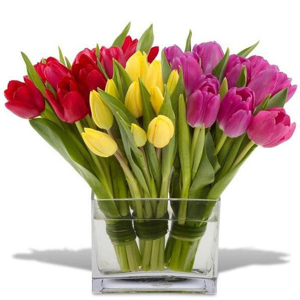 Vibrant Tulip Arrangement