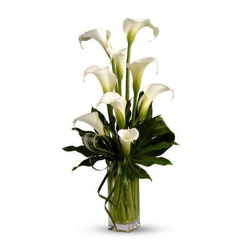 White Elegant Vase Arrangement