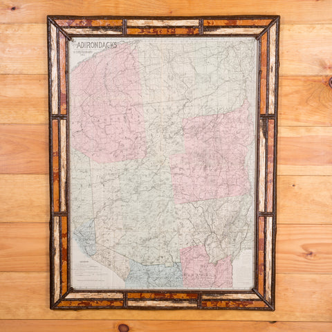 "1912 S.R.Stoddard ""Map of the Adirondacks"""