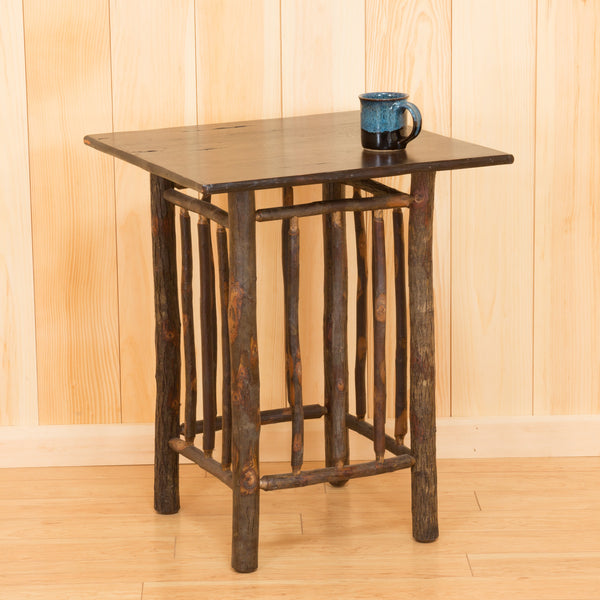 Tabouret Table - Large with Hickory Top